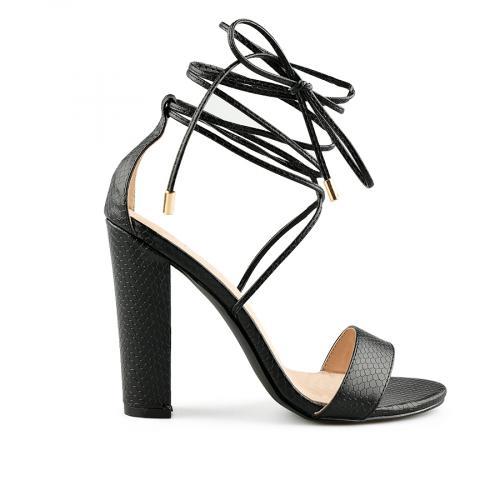 дамски елегантни сандали черни 0140470