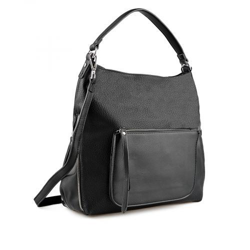 дамска ежедневна чанта черна 0137941