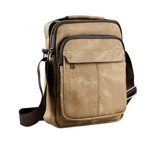 мъжка ежедневна чанта кафява 0143891