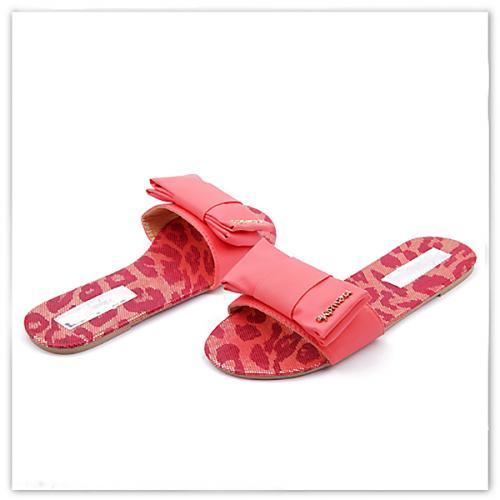 дамски чехли червени 0113932