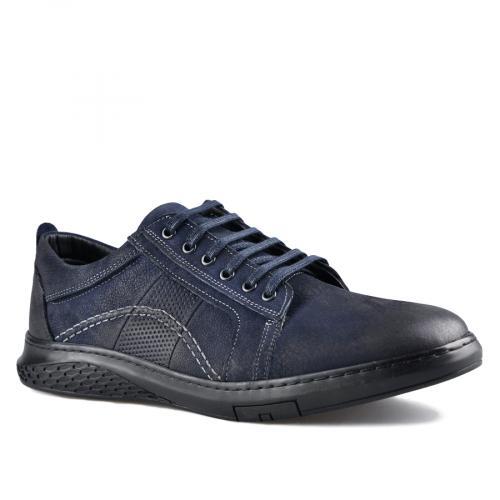 мъжки ежедневни обувки сини 0142127