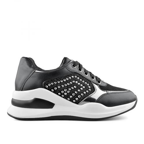 дамски ежедневни обувки черни 0139399