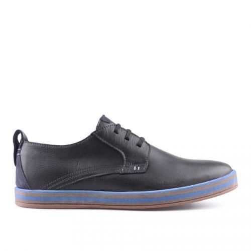 мъжки ежедневни обувки черни 0127506