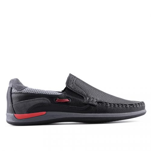 мъжки ежедневни обувки черни 0127515