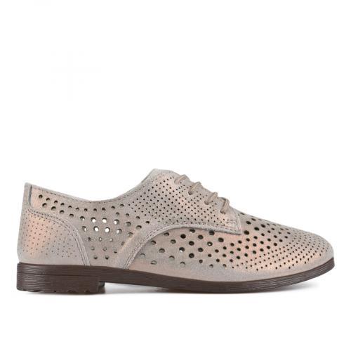 дамски ежедневни обувки бронзови 0137204