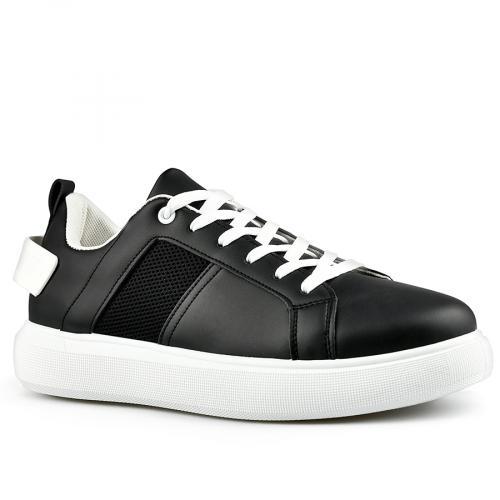 мъжки ежедневни обувки черни 0142622