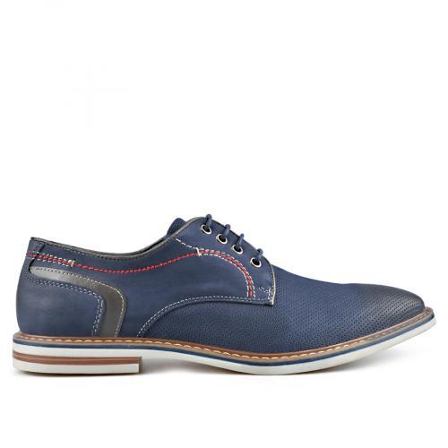 мъжки ежедневни обувки сини 0136595