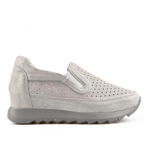дамски ежедневни обувки сиви 0137221