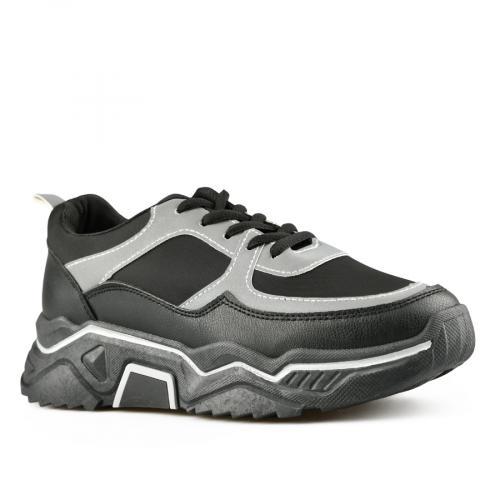 дамски ежедневни обувки черни 0141546