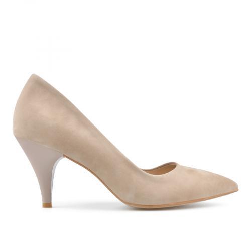 дамски елегантни обувки бежови 0138414