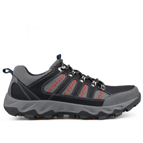 мъжки ежедневни обувки черни 0135795