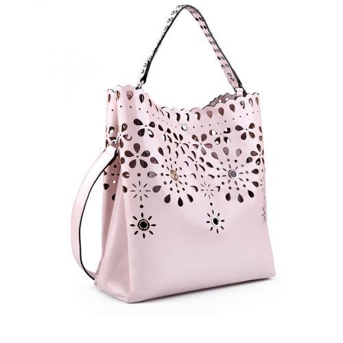 дамска ежедневна чанта розова 0138174