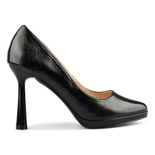 дамски елегантни обувки черни 0145031