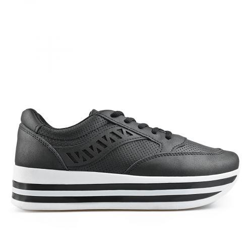 дамски ежедневни обувки черни 0136897