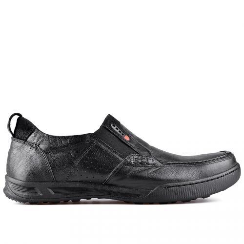 мъжки ежедневни обувки черни 0128773