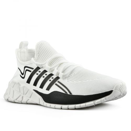 мъжки ежедневни обувки бели 0142803