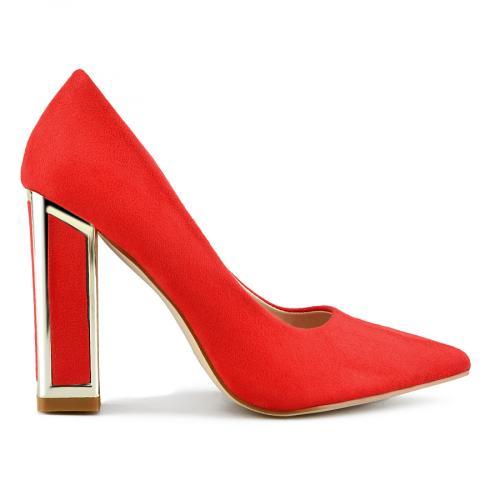 дамски елегантни обувки червени 0143213