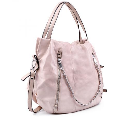 дамска ежедневна чанта розова 0138169