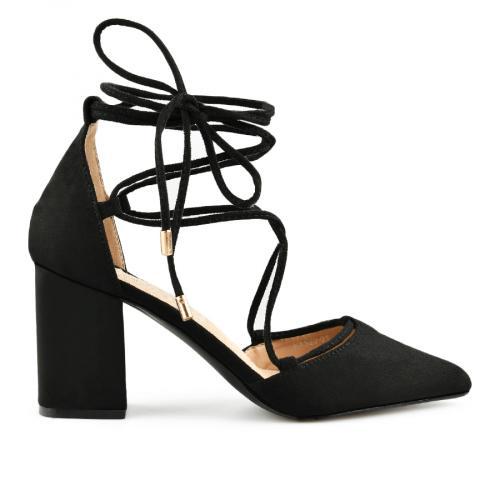 дамски елегантни сандали черни 0140471