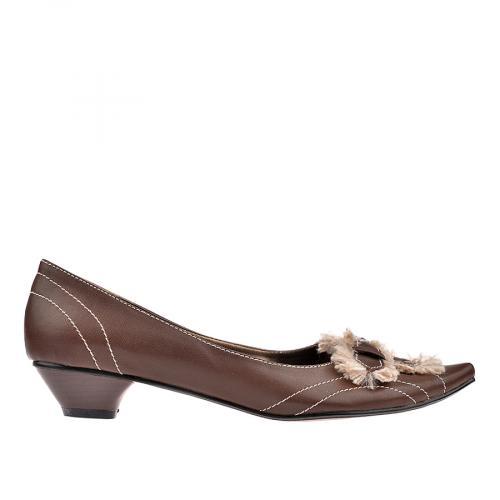 дамски обувки кафяви 0102170