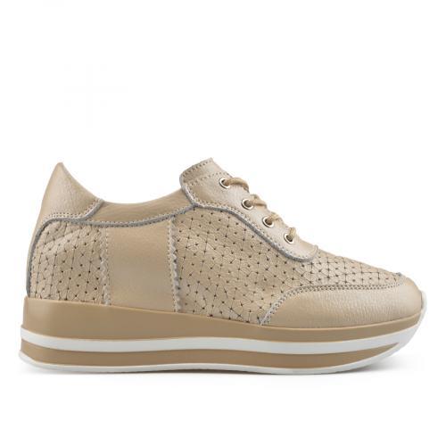 дамски ежедневни обувки бежови 0137208