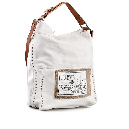 дамска ежедневна чанта сива 0141096