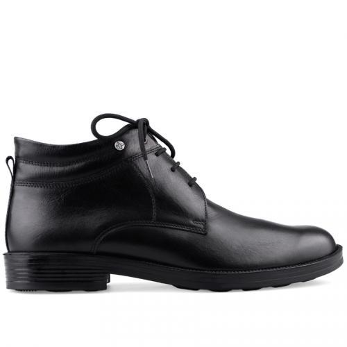 мъжки елегантни боти черни 0126033