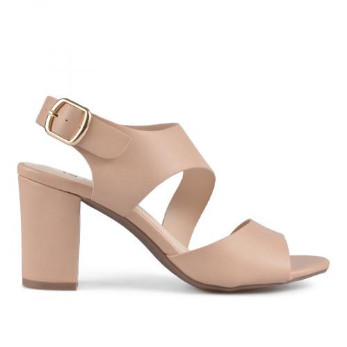 дамски елегантни сандали бежови 0137659