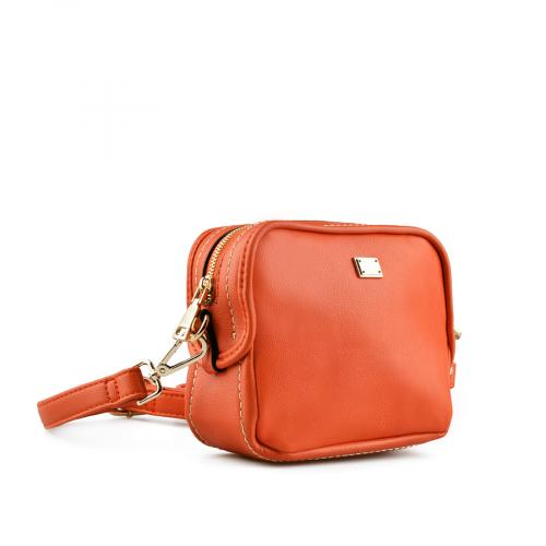 дамска ежедневна чанта червена 0143370