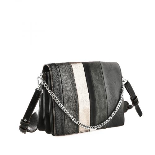 дамска ежедневна чанта черна 0140877