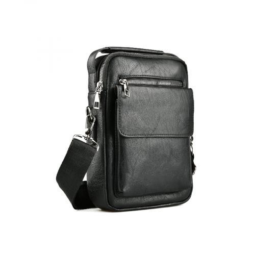 мъжка ежедневна чанта черна 0141602
