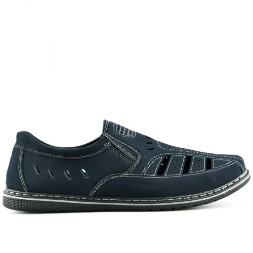 мъжки ежедневни обувки сини 0140282