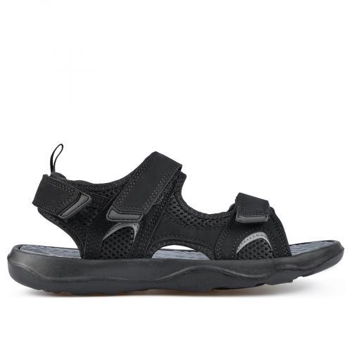 мъжки сандали черни 0137296