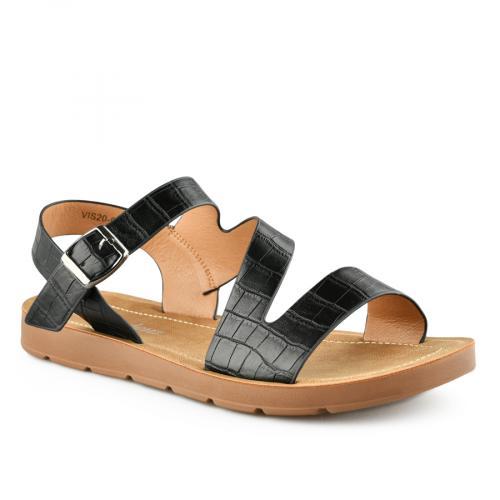 дамски ежедневни сандали черни 0140843