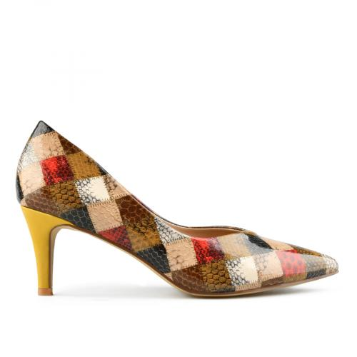 дамски елегантни обувки бежови 0142417
