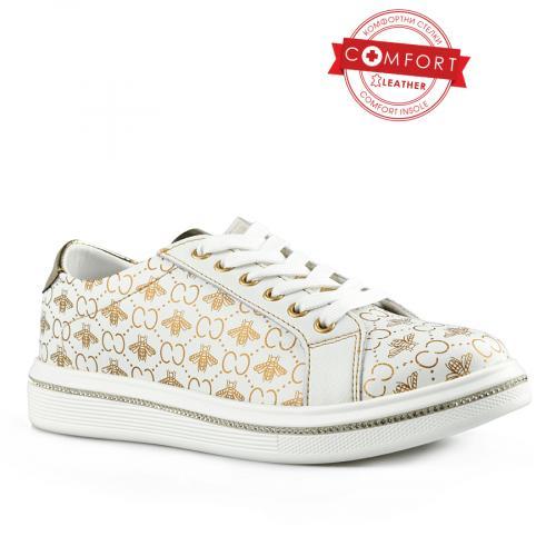 дамски ежедневни обувки бели 0142512