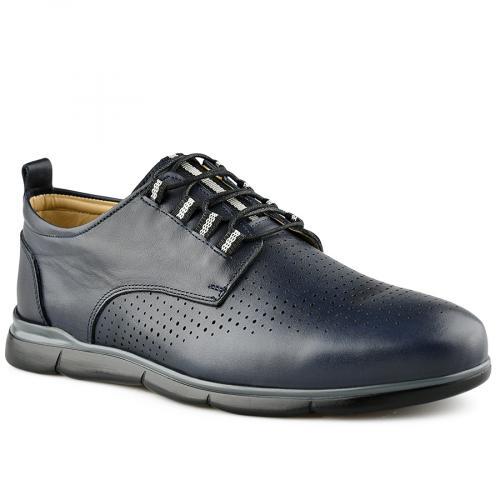 мъжки ежедневни обувки сини 0141208