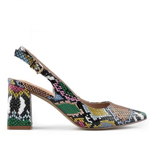 дамски елегантни сандали цветни 0140020