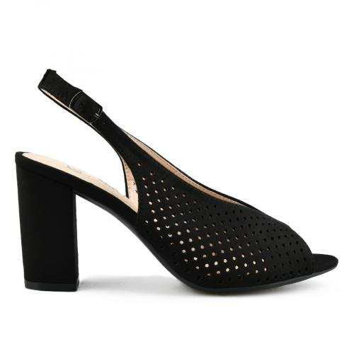 дамски елегантни сандали черни 0142885