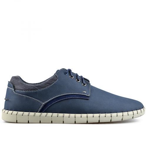 мъжки ежедневни обувки сини 0140553