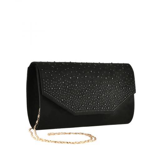 дамска елегантна чанта черна 0139860