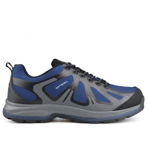 мъжки ежедневни обувки сини 0136201