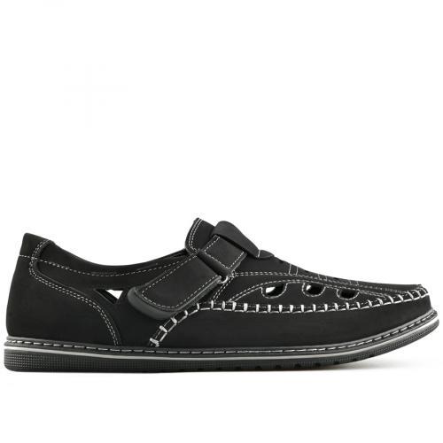 мъжки ежедневни обувки черни 0140279