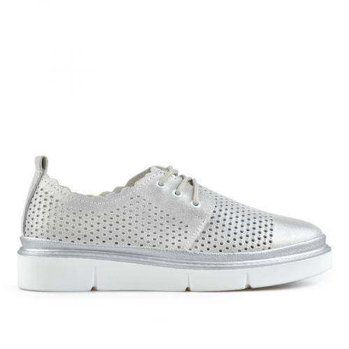 дамски ежедневни обувки сребристи 0137229