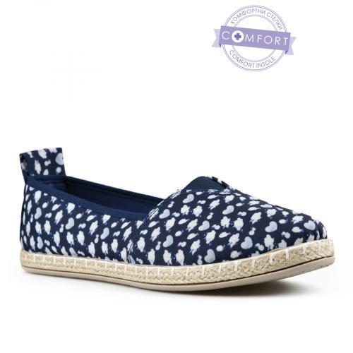 дамски ежедневни обувки сини 0142566