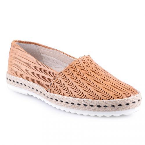 дамски ежедневни обувки оранжеви 0127573
