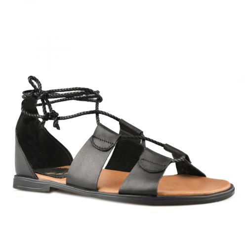 дамски ежедневни сандали черни 0144416