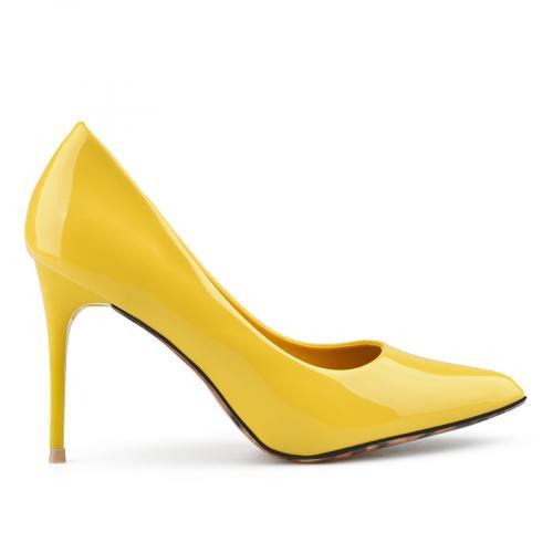 дамски елегантни обувки жълти 0137491