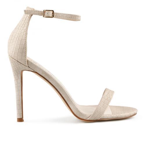 дамски елегантни сандали бежови 0140050