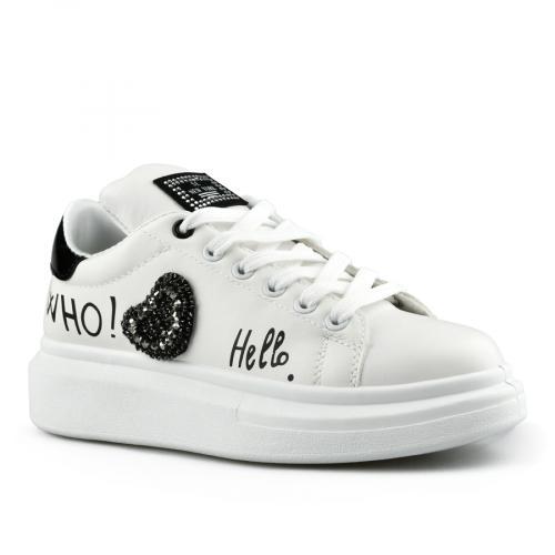 дамски ежедневни обувки бели 0142758